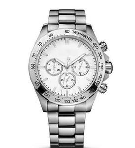 Orologio da uomo 44mm 1512962 + scatola per orologio da polso in acciaio inossidabile cronografo al quarzo di modo di trasporto libero