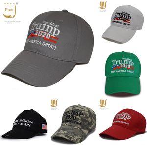 MURCJ Best Sale Embroidery Trump 2020 Make America Great Again Sports Trump Baseball Baseball Hats Caps Caps Adults Donald Hat Black & Red