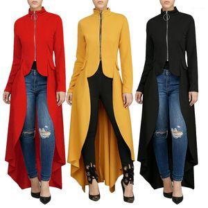 Fit Irregular Dress Vestidoes Women Clothes Dressing Solid Color Long Spring Autumn Wear Slim