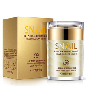 60g OneSpring Natural Snail Cream Facial Moisturizer Face Cream Whitening Ageless s Lifting Facial Firming Skin Care