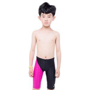 Fanceey 2020 Professional Boy Swimsuit crianças Calções for Boys Crianças Calção for Boys Youth Homens Swimwear Corrida