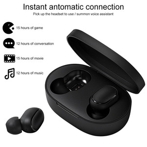 оригинальные Airdots для Xiaomi Redmi Black Bluetooth наушники Mi True беспроводные наушники Bluetooth 5.0 TWS Air Dots гарнитура