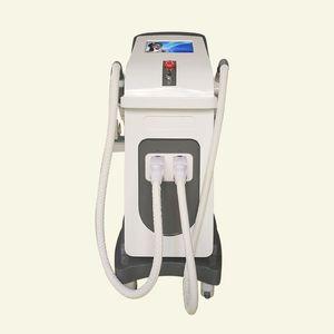 ipl nd yag laser 2 in 1 macchina laser depilazione e tatuaggio rimozione maquinas depilacion portatil diodo shr