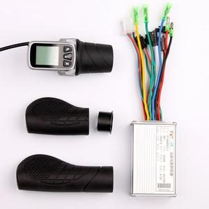 250W 350W 24V 36V 48V 전기 스쿠터 자전거 LCD 디스플레이 스로틀 6Mosfet 브러시리스 컨트롤러를 들어 Ebike MTB 부 키트 트위스트