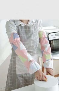 Oil Splash Sleeve Set God God Vegetable Gloves Kitchen Anti-hot Home Textiles Cooking Sleeves Summer Waterproof Female Model Can Be Flipped