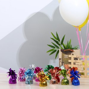Balloon Weight Bright Color Birthday Anniversary Valentine\'s Day Christmas Wedding Gravity Block Decoration Party Cute Tassel