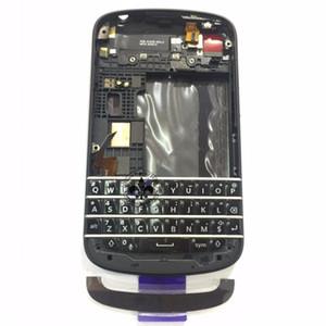 2 PCS Original Para Blackberry Q10 Completa Habitação Completa Caso Capa N-Series Dev Alpha C Com Teclado Botão 100% de Trabalho de teste