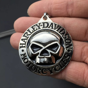 Metal Motosiklet Araba Motor Rozeti Siyah Amblem anahtarlık Anahtar Tutucu Araba Anahtarı yüzükler PP paketi