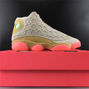 Saf Hava 13 Çin Yeni Yılı CNY Gri CW4409-100 13s XIII Kadın Erkek Basketbol Spor Ayakkabıları Sneakers İyi Kalite Eğitmenler ile Orjinal Kutusu