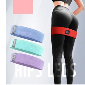 Résistance de la hanche anneau de hanche anneau élastique latex lift anti-dérapant abus de remise en forme squat ceinture stretch yoga anneau de résistance