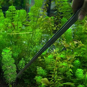 Universal 27CM Aquarium Plant Shrimp Reef Tank Straight Tweezer Stainless
