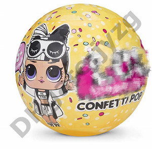 CONFETTI POP Topu-Konfeti Pop-Serisi 3 10 cm Oyuncaklar Çocuklar için Action Figure Oyuncaklar Hediye Erkek Kız Için toptan