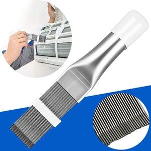 Escova de limpeza de aço inoxidável Air Conditioner Fin Cleaner Repair Tool Comb Ar Condicionado Acesso Condensador Radiator # T1P