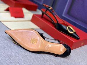 2020 mulheres sapatos de design de alta qualidade saltos formaldesigner frisado mulheres sexy designersandals noite das mulheres sandálias