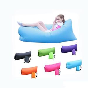 Bolsa 20PCS Salón del sueño perezoso inflable Descargas digitales Sofá Silla, Sala Bean Bag del amortiguador, al aire libre Auto inflado Descargas digitales de muebles JXW209