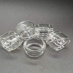 Ecig ясно Pyrex стеклянная трубка для Smok TFV мини V2 танк форсунки R-Kiss 200 Вт комплект Замена лампы пузырь жира выпуклые расширенный электронной сигареты