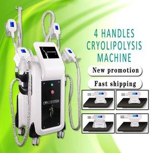 Heißer Verkauf 2020 neueste 4 Handpieces beste Cryolipolysis-kühle Formungs-Maschine Cryolipolysis-fette Gefriermaschine für Schönheits-Salon