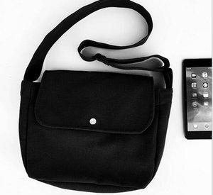 Recreational schräge einfache literarische Modell Leinwand einzelne Schulter modische Retro-Damentasche