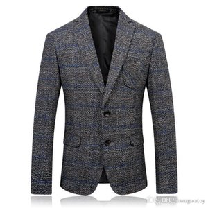 2019 New Luxury Men Blazer New Autumn Fashion Brand High Quality Cotton Slim Fit Men Suit Terno Masculino Blazers XXXL