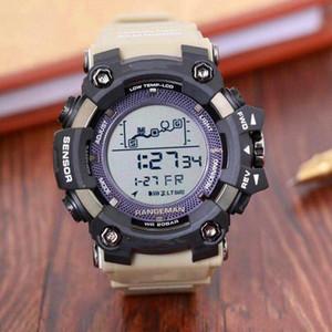 Горячая GW-9400 Спортивная электроника мужские часы светодиодные военные ленты водонепроницаемые и противоударные цифровые часы Бесплатная доставка