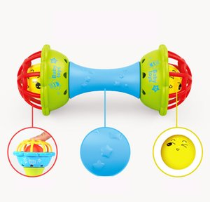 Baby's hand grasps the ball, rings the bell, body building soft rubber, hand rings the bell, baby's tooth glue, baby's 0-1-year-old educatio