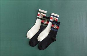 [С коробкой] Мужская Мужские носки Женщины Мужчины Длинные Письмо Носок Хлопок chaussettes Elite Упругие Спорт носок носки чулки SCC06-1