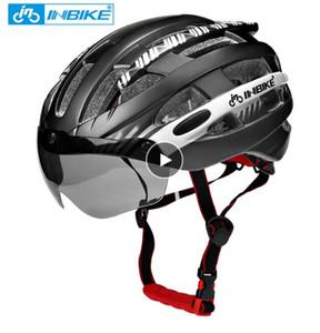 Велосипедный шлем с защитными очками сверхлегкий MTB велосипедный шлем Мужчины Женщины горная дорога женщины КАСКО специальные велосипедные шлемы