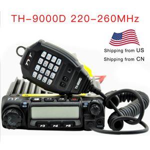 TYT Vehicle Two Way Радио TH9000D 220-260MHz 60Watts Выходная мощность автомобиля трансиверов TH9000D Walkie Talkie