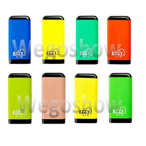 8 Styles EZZY AIR dispositif à usage unique Pod Vape Pen 500 bouffées 2,7 ml Vaporizer Vape Pen E-Cigarettes Pop plus ovale Xtra Pen