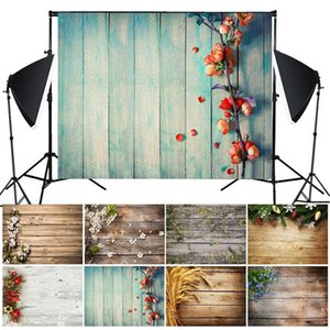 Vintage Wood Planks Texture Photography Background Cloth Backdrop Photo Decor Creative Studio Background Cloth Screen 125x80cm