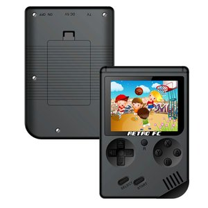 Mini Portable Handheld Game Console Players 3.0 Inch Black 8 Bit Classic Video Handheld Game Console RETRO-FC 07
