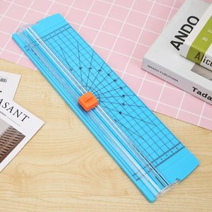 1PC Triple Track Paper Trimmer Blades for Photo Paper Cutter Guillotine Card Trimmer Ruler Home Office Mini Paper Cutter