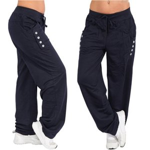 Bigsweety Plus Size hombre Pantalon Homme Hip Hop Harem Joggings Hommes Pantalons Hommes Pantalons Fitness Pocket solide Sweatpants