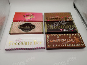 Gingerbread Spice Dolce Cioccolato al cioccolato Bon Bons Semi Sweet Bianco Cioccolata Bar 18 Colori Eyeshadow Palette spedizione gratuita