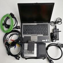 MB Star C5 SD Connect C5 herramienta de diagnóstico para mb vehículos star software de diagnóstico 2019,09 V vediamo/X/DSA/DTS con D630 portátil usado