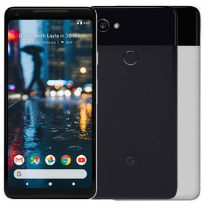 "Rinnovato originale Google Pixel 2 XL 6.0"" Android ROM Octa core 4GB di RAM 64GB 128GB sbloccato 4G LTE Smart Phone mobile DHL libero 1PC"