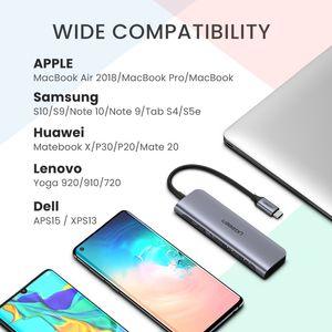 الحرة الشحن USB C كابل HDMI نوع C إلى HDMI محول USB HUB-C HDMI تحويل نوع C-الصاعقة 3 حوض للماك بوك برو 30 ماتي هواوي