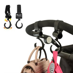 2 PCS LOT Baby Stroller Accessories Hook Multifunction Baby Stroller Black High Quality Plastic Hook