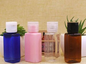 모듬 색상 채우는 플라스틱 PET 플립의 쉬운 캡 도매 광장 샘플 병 병 300PCS 30ML