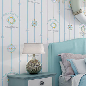 3d Compass Embossed Wallpaper for Boys Room Self Adhesive Wallpapers Star Moon Kids Bedroom Walls Papel de Parede Infantil J114