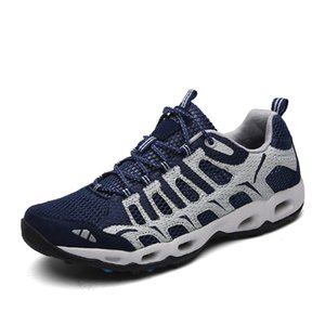 BOUSSAC Men Women Durable Hiking Shoes Sneakers Outdoor Climbing Trekking Sport Nonslip Flat Shoes Unisex Wading Water Sneakers
