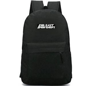 Дальний Восток Движение рюкзак Хип-хоп дневной пакет Как школьная сумка G6 Band packsack Рюкзак для отдыха Спортивная школьная сумка Открытый рюкзак