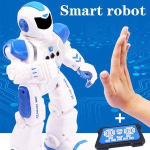 RC Smart Gesture Sensor Танец робота Программируемая Inteligente электрический Sing дистанционного управления Обучающие Гуманоид робототехника Дети Игрушки Y200428