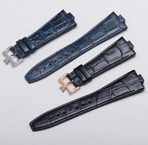 Cinturino in vera pelle di vitello nero blu scuro adatto per cinturino costante 47660 / 000G-9829 cinturino di cinturino d'epoca 25mm (cinturino 9 mm)
