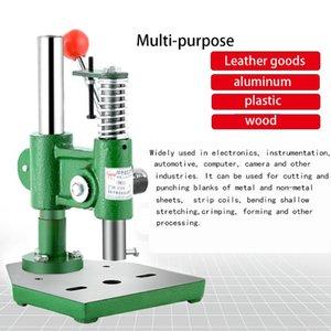 SWANSOFT alta calidad JM pequeño manual punzón de prensa Ling escritorio corte de la mano prensa de mano troquel máquina punzón cerveza punzonado