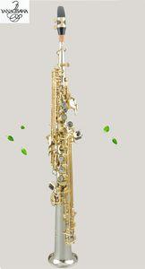 Dritto Yanagisawa S-901 B Flat strumento musicale professionale Sassofono soprano Free shipping