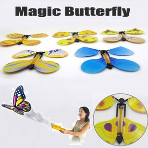magic tricks Flying Butterfly Magic Transforme Cocoon em um Flying Butterfly Trick Prop Toy twisty pet
