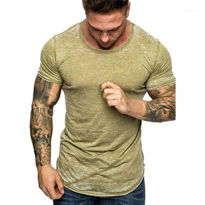 Teenager Male Tee Mens Designer Tshirt Casual Round Neck Summer Hot Style Short Sleeved Mens T-shirt