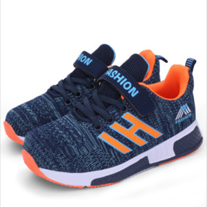 Kids Fashion Sneakers for Boys Girls Mesh Tennis Shoes Breathable Sports Running Shoes Lightweight Children Casual Walking Shoe