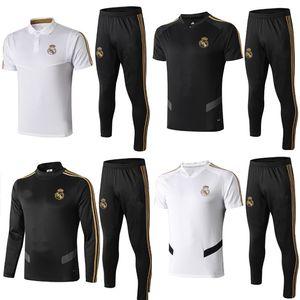 2019/2020 Real Madrid Trainingsanzug Herrenüberlebenskampf Fußball Trainingsanzug 2019/2020 Trainingsanzug für Erwachsene Maillot De Foot Sportswear XXL